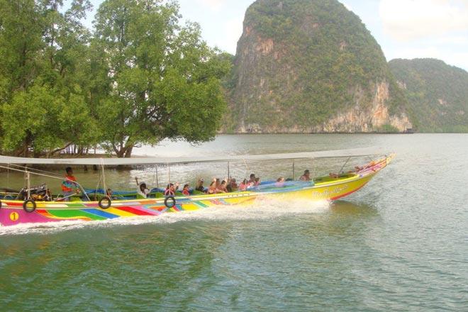 5 in 1 James Bond Tour Phang Nga Bay