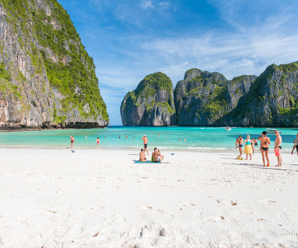 Phi Phi Island Tour by Speed Boat Half Day