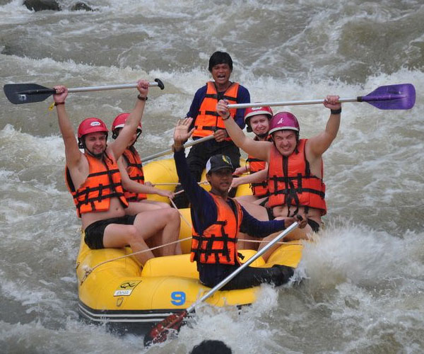 Whitewater Rafting Tours