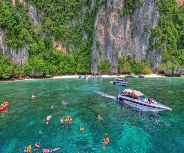 Phi Phi Maya Bay, Khai Island Tour by Speed boat