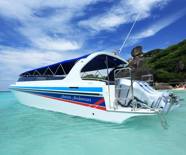Private Speed Boat Charter Tour to Phi Phi Island, Khai Island